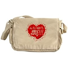 All You Need Is Love-The Beatles Messenger Bag