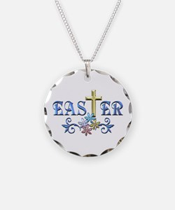 Easter Cross Necklace