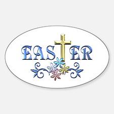 Easter Cross Bumper Stickers