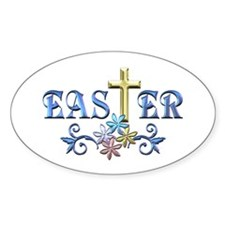 Easter Cross Decal