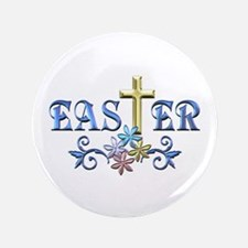 """Easter Cross 3.5"""" Button (100 pack)"""