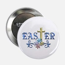 """Easter Cross 2.25"""" Button (100 pack)"""