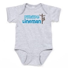 Future Lineman Baby Bodysuit