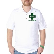 THERAPYdoghandlercross.jpg T-Shirt