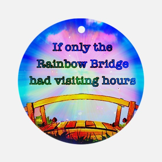 Rainbow Bridge Ornament (Round)