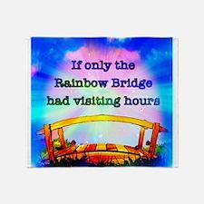 Rainbow Bridge Throw Blanket