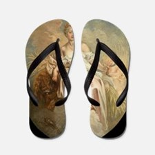 Antoine Watteau - Ceres (Summer) Flip Flops