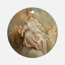 Antoine Watteau - Ceres (Summer) Round Ornament