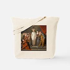 Antoine Watteau - The Italian Comedians Tote Bag
