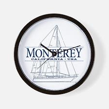 Monterey - Wall Clock