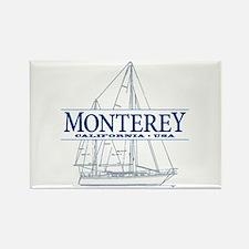 Monterey - Rectangle Magnet