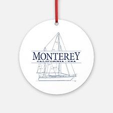 Monterey - Ornament (Round)