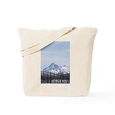 Cascade Mountain Range Oregon Tote Bag