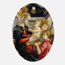 Attributed to Sandro Botticelli - Ma Oval Ornament