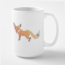 Pixel Fox Mugs