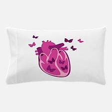 Butterflies Heart Pillow Case