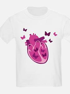 Butterflies Heart T-Shirt