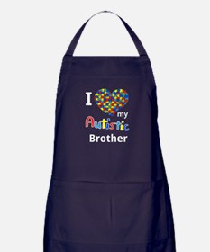 Autistic Brother Apron (dark)