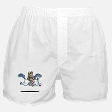 Bigfoot Alien Unicorn Boxer Shorts