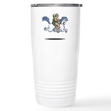 Bigfoot Alien Unicorn Travel Mug