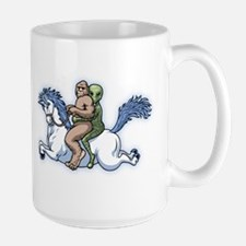 Bigfoot Alien Unicorn Mug