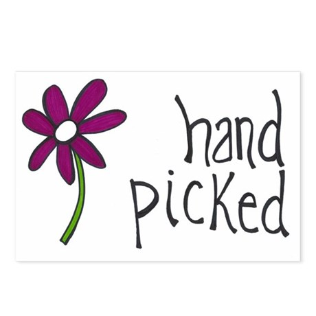 Hand Picked Postcards (Package of 8)