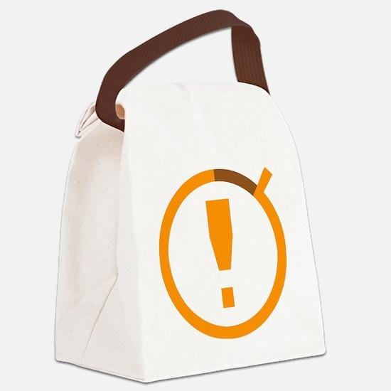Combat Timer Canvas Lunch Bag