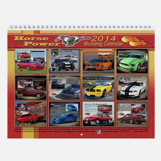 2014 Horse Power Calendar