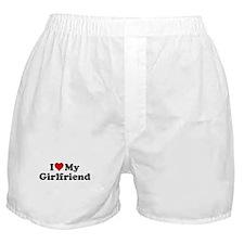 I Heart my Girlfriend Boxer Shorts