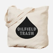 Oilfield Trash Oil Drop Tote Bag