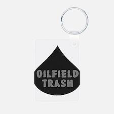 Oilfield Trash Oil Drop Keychains