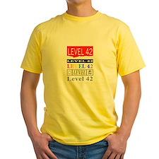 Classic Level 42 Wembley '86 T-Shirt