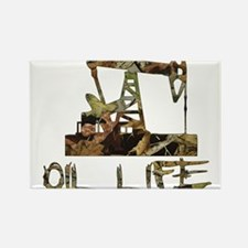 Camo Oil Life Magnets
