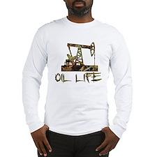 Camo Oil Life Long Sleeve T-Shirt