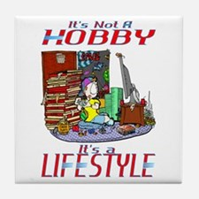 Gaming Is A Lifestyle Tile Coaster