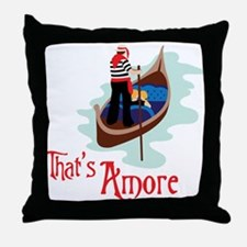Thats Amore Throw Pillow