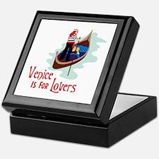 Venice Is For Lovers Keepsake Box