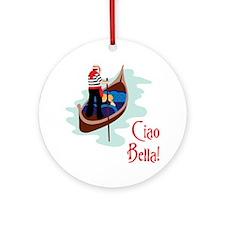 Ciao Bella! Ornament (Round)