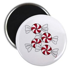 """Peppermint Candy 2.25"""" Magnet (100 pack)"""
