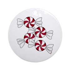 Peppermint Candy Ornament (Round)