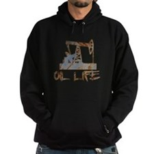 Oil Life Pumpjack Rusty Metal Hoody