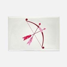Cupid Bow And Arrow Magnets