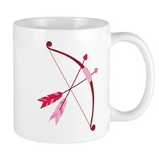 Cupid Bow And Arrow Mugs
