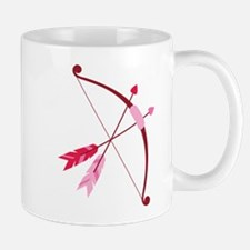 Cupid Bow And Arrow Mugs