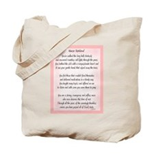 Nurse Retired Poem Tote Bag