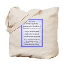 Nurse Retired Poem Blue Tote Bag