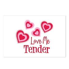 Love Me Tender Postcards (Package of 8)