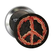 """Peace of Bacon 2.25"""" Button (100 pack)"""