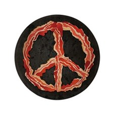 "Peace of Bacon 3.5"" Button"