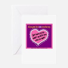 Fall In Love-Kellie Pickler Greeting Cards